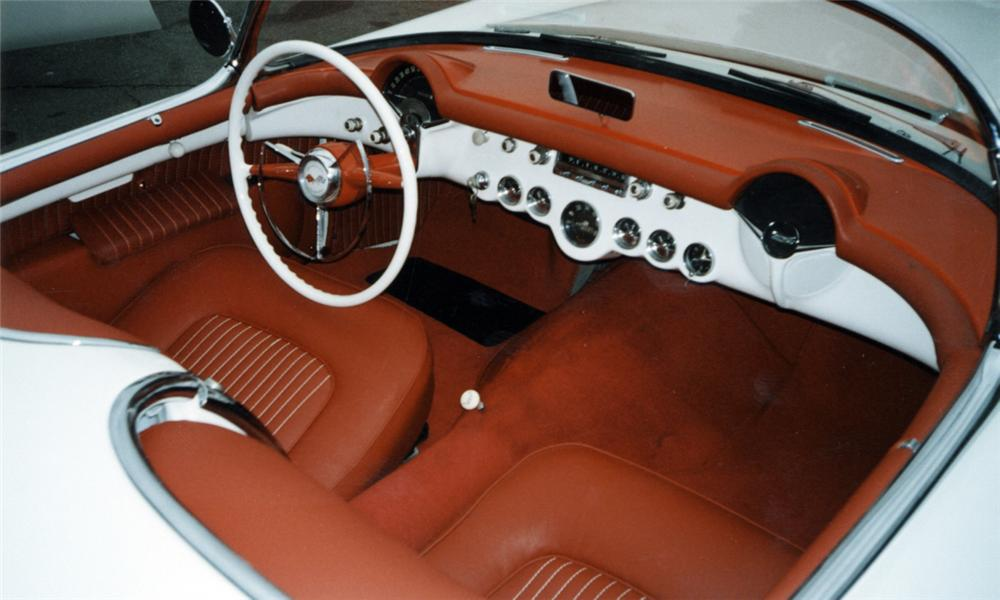 1955 CHEVROLET CORVETTE CONVERTIBLE - Interior - 40042