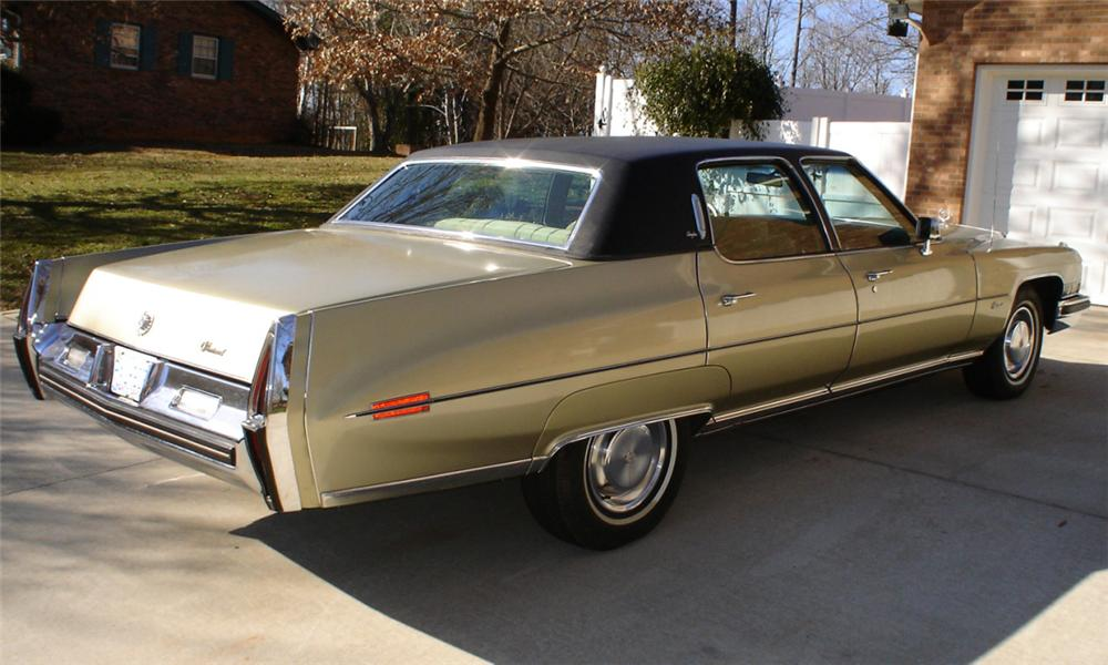 1973 CADILLAC FLEETWOOD BROUGHAM 4 DOOR SEDAN - 40046