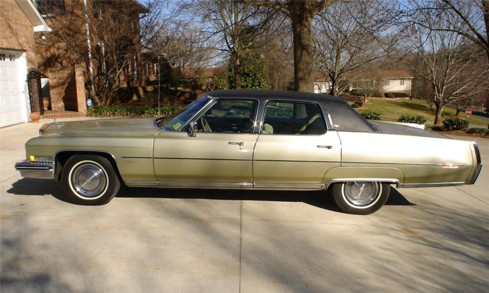 1973 Cadillac Fleetwood Brougham 4 Door Sedan 40046
