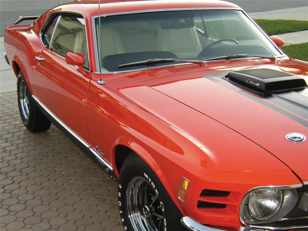 1970 FORD MACH 1 FASTBACK - Front 3/4 - 40053