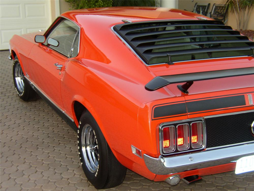 1970 FORD MACH 1 FASTBACK - Rear 3/4 - 40053