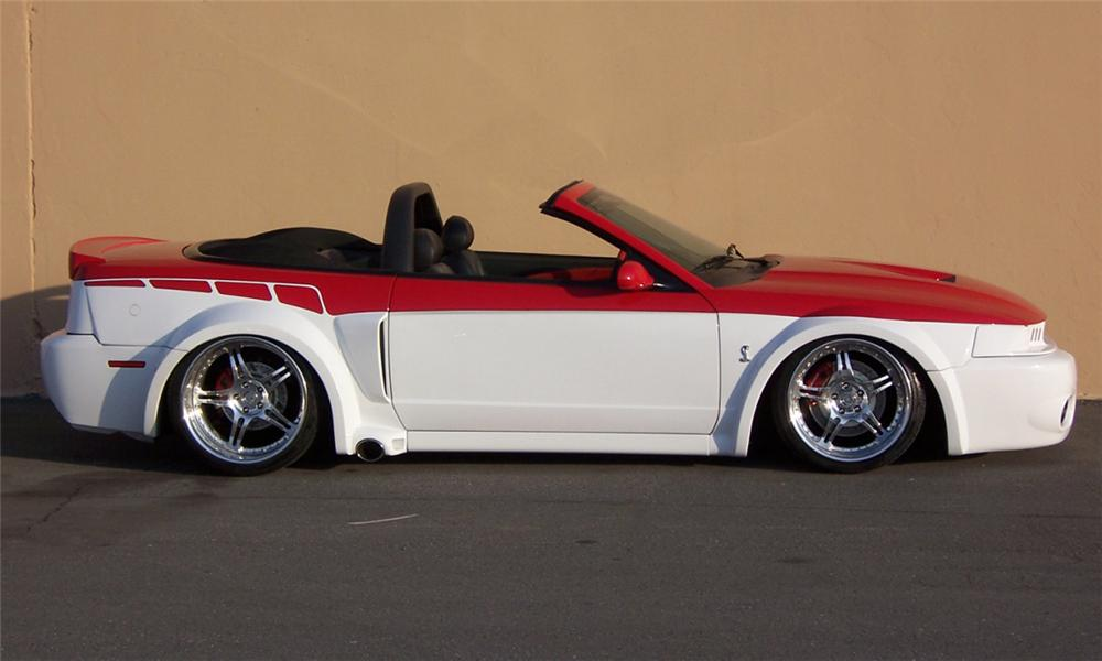 2004 FORD MUSTANG COBRA SVT CONVERTIBLE CUSTOM - Side Profile - 40055