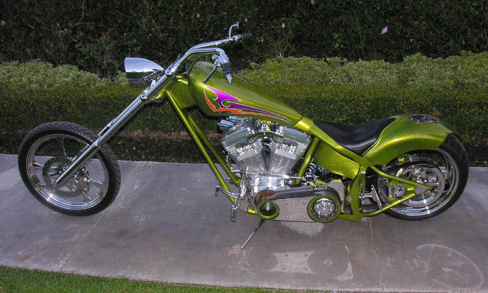 2004 CUSTOM CHOPPER - Side Profile - 40060