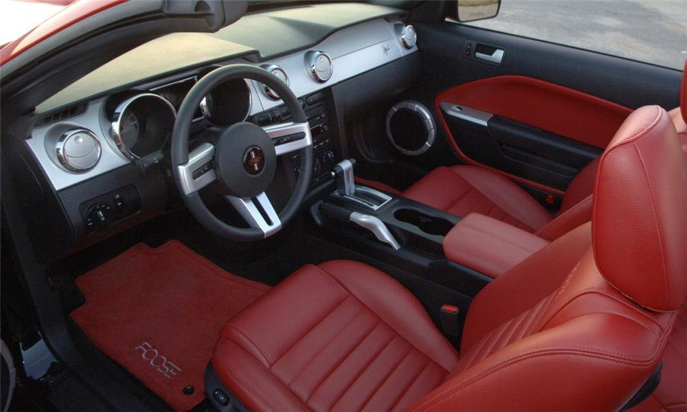 2006 FORD MUSTANG FOOSE STALLION CONVERTIBLE - Interior - 40061