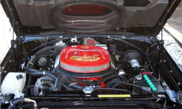 1969 PLYMOUTH ROAD RUNNER 2 DOOR HARDTOP HEMI RE-CREATION - Engine - 40065