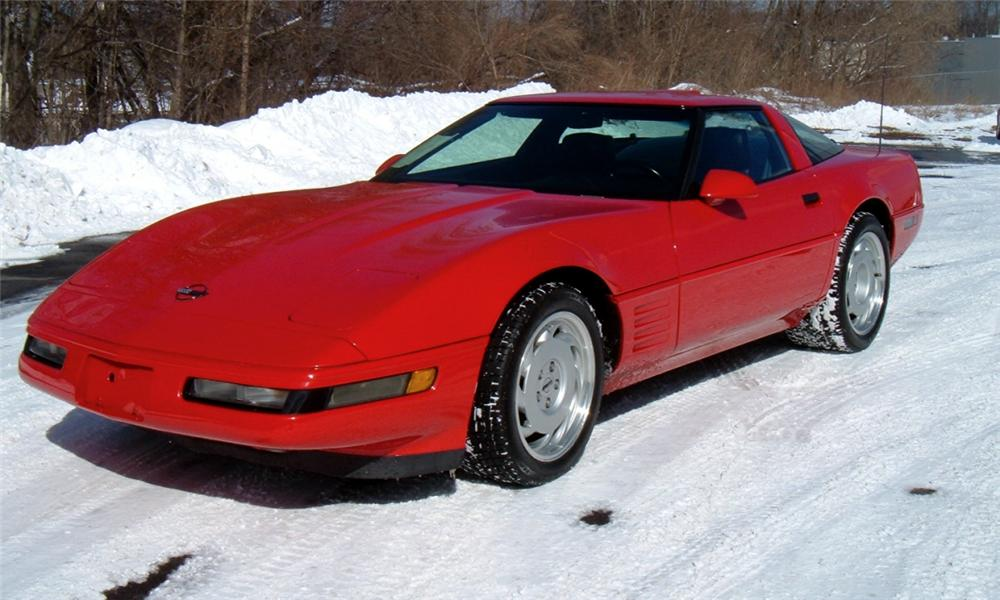 1991 CHEVROLET CORVETTE ZR1 COUPE - Front 3/4 - 40068