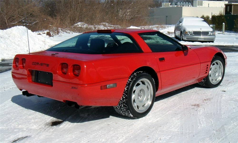 1991 CHEVROLET CORVETTE ZR1 COUPE - Rear 3/4 - 40068