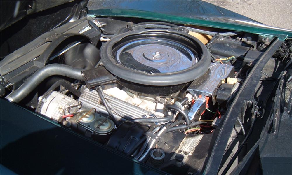 1973 CHEVROLET CORVETTE COUPE - Engine - 40069