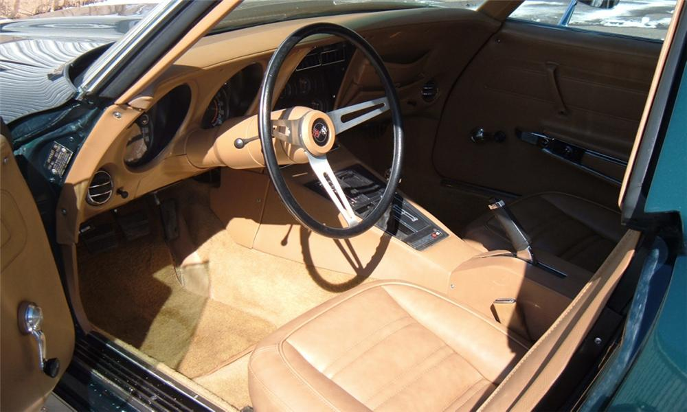 1973 CHEVROLET CORVETTE COUPE - Interior - 40069