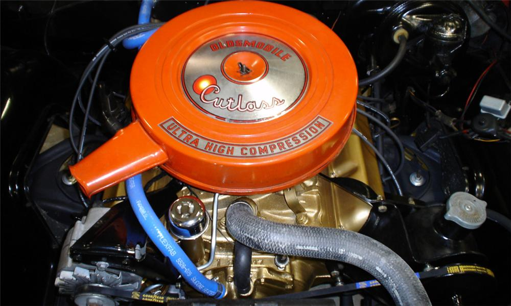 1965 OLDSMOBILE CUTLASS CONVERTIBLE - Engine - 40072
