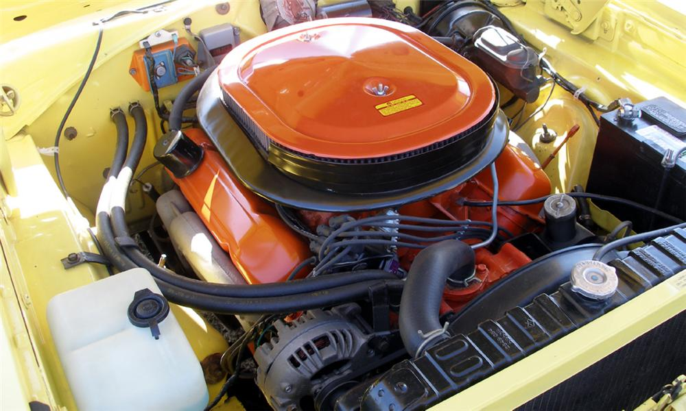 1969 PLYMOUTH ROAD RUNNER 2 DOOR HARDTOP - Engine - 40076