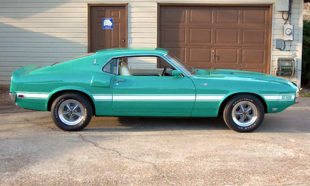 1969 SHELBY GT500 FASTBACK - Side Profile - 40083