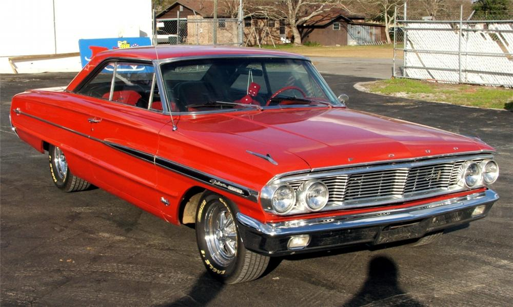 1964 FORD GALAXIE XL CUSTOM 2 DOOR HARDTOP - Front 3/4 - 40085
