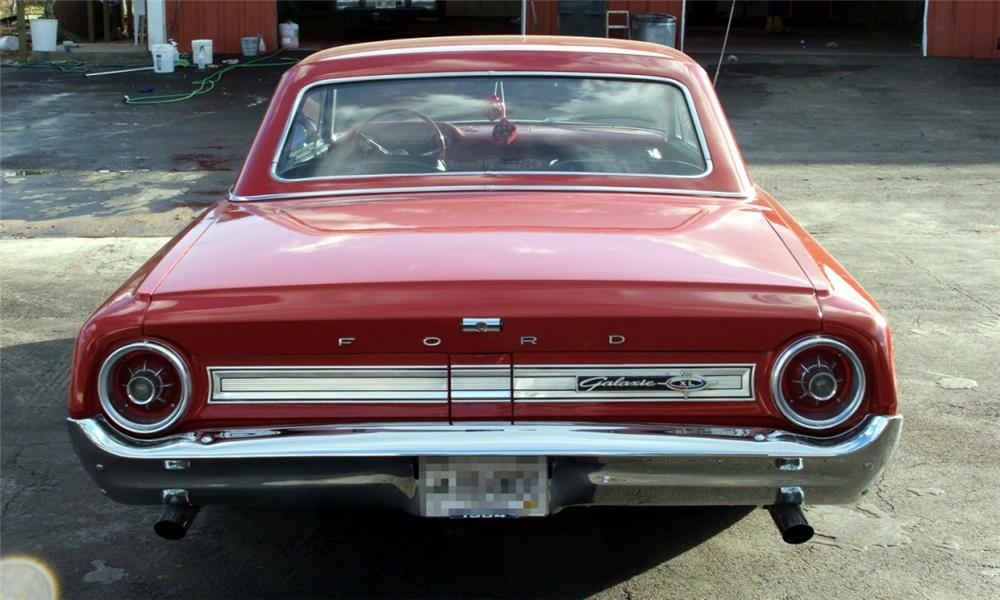 1964 FORD GALAXIE XL CUSTOM 2 DOOR HARDTOP - Rear 3/4 - 40085