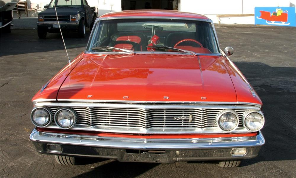 1964 FORD GALAXIE XL CUSTOM 2 DOOR HARDTOP - Side Profile - 40085