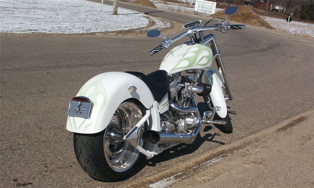 2005 LEGENDS WILD CHILD 250 MOTORCYCLE - Rear 3/4 - 40089