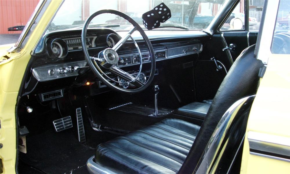 1963 FORD GALAXIE CUSTOM 2 DOOR HARDTOP - Interior - 40091