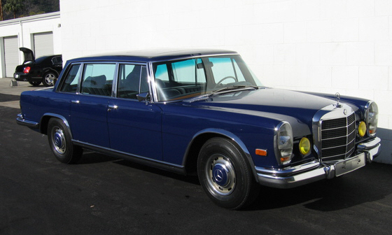 1969 MERCEDES-BENZ 600 SWB LIMO - Front 3/4 - 40095