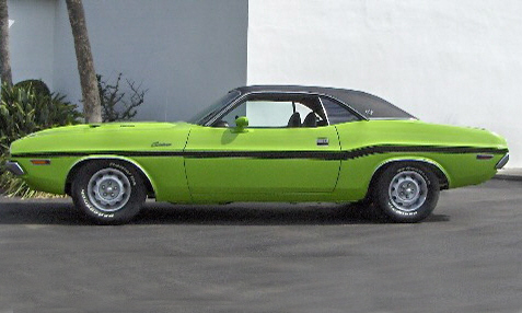 1970 DODGE CHALLENGER SE 2 DOOR COUPE - Front 3/4 - 40096