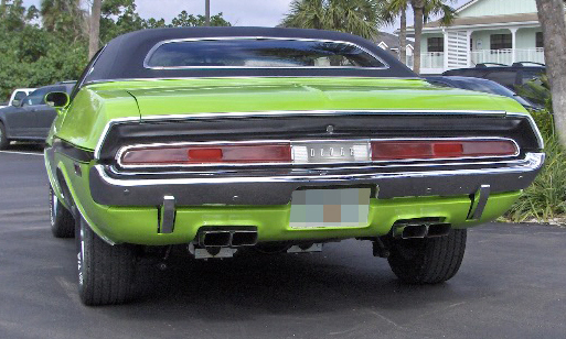 1970 DODGE CHALLENGER SE 2 DOOR COUPE - Side Profile - 40096