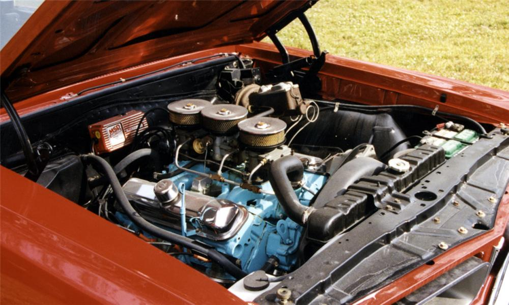 1965 PONTIAC GTO CONVERTIBLE - Engine - 40097