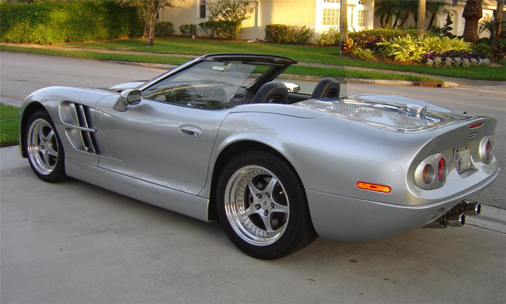 1999 SHELBY SERIES 1 CONVERTIBLE - Rear 3/4 - 40101