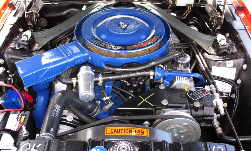 1969 SHELBY GT500 FASTBACK - Engine - 40102