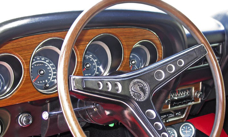 1969 SHELBY GT500 FASTBACK - Interior - 40102