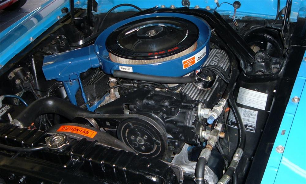 1970 SHELBY GT350 FASTBACK - Engine - 40103