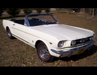 "1966 FORD MUSTANG GT ""K"" CODE CONVERTIBLE -  - 40109"