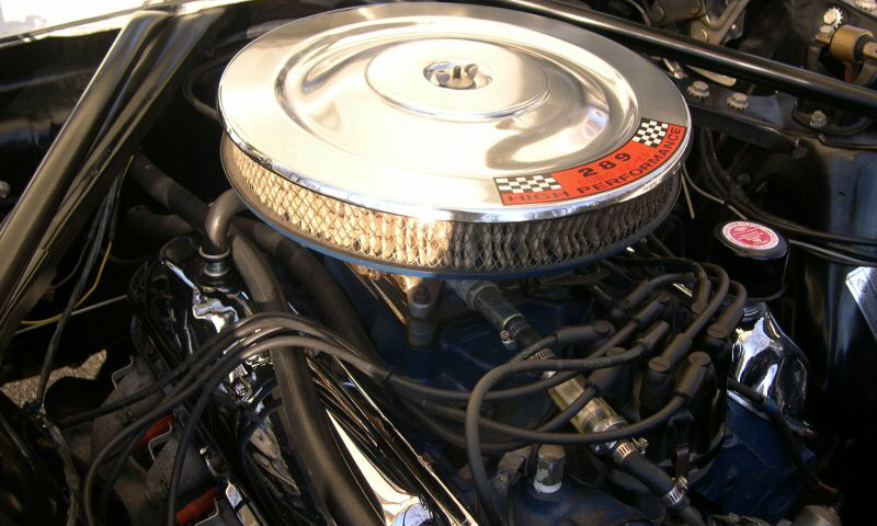 """1966 FORD MUSTANG GT """"K"""" CODE CONVERTIBLE - Engine - 40109"""