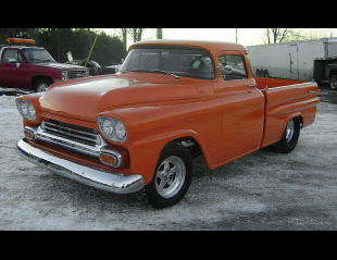 1959 CHEVROLET APACHE CUSTOM PICKUP -  - 40111