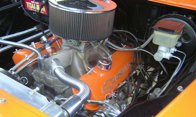 1959 CHEVROLET APACHE CUSTOM PICKUP - Engine - 40111