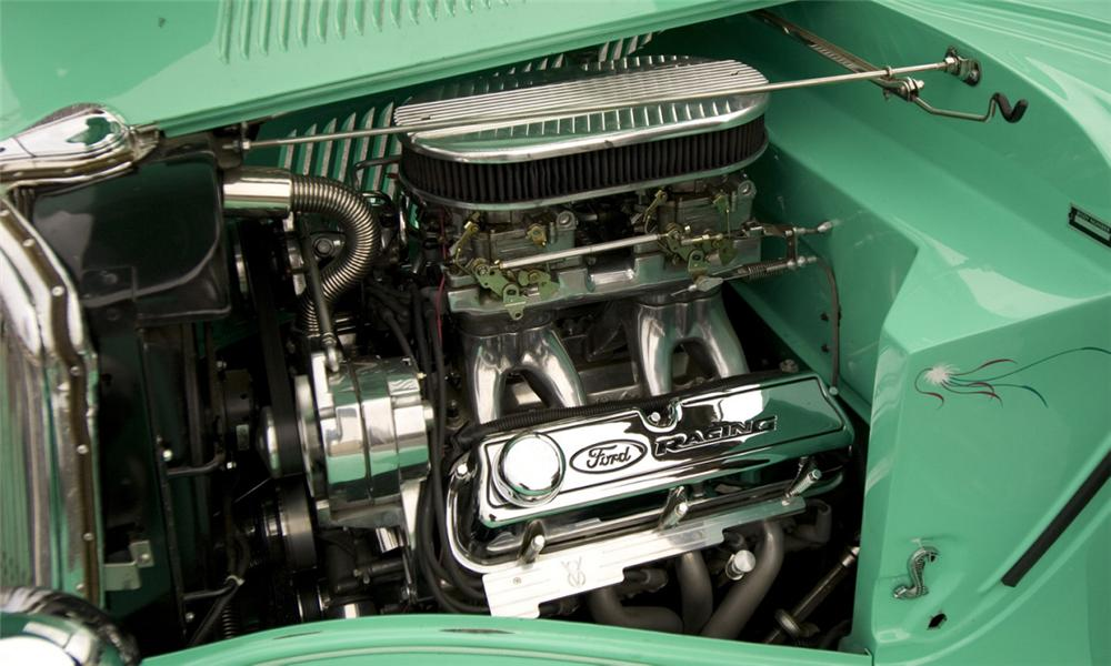 1934 FORD COUPE - Engine - 40112