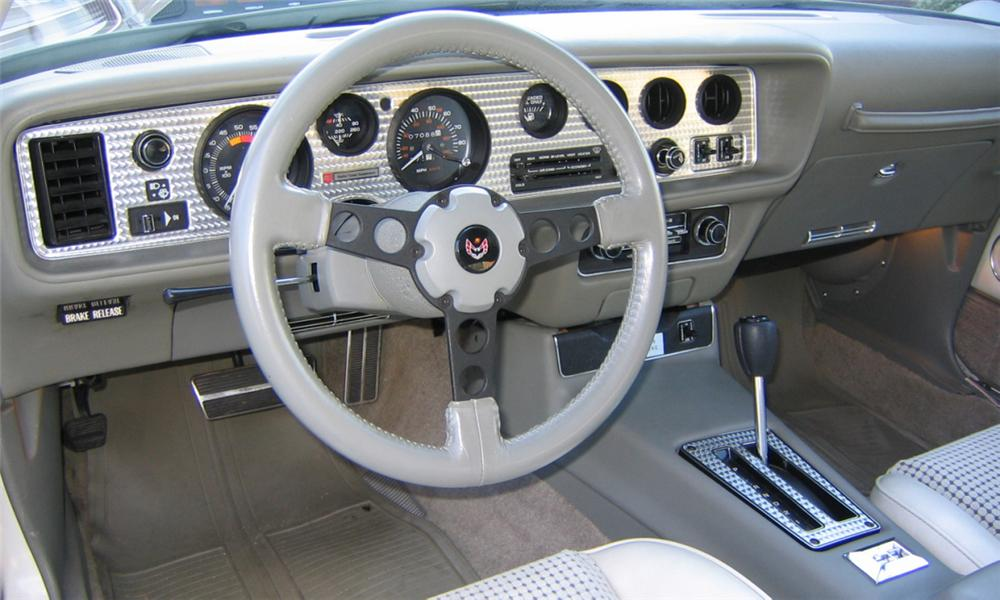 1980 PONTIAC FIREBIRD TRANS AM INDY PACE CAR - Interior - 40113