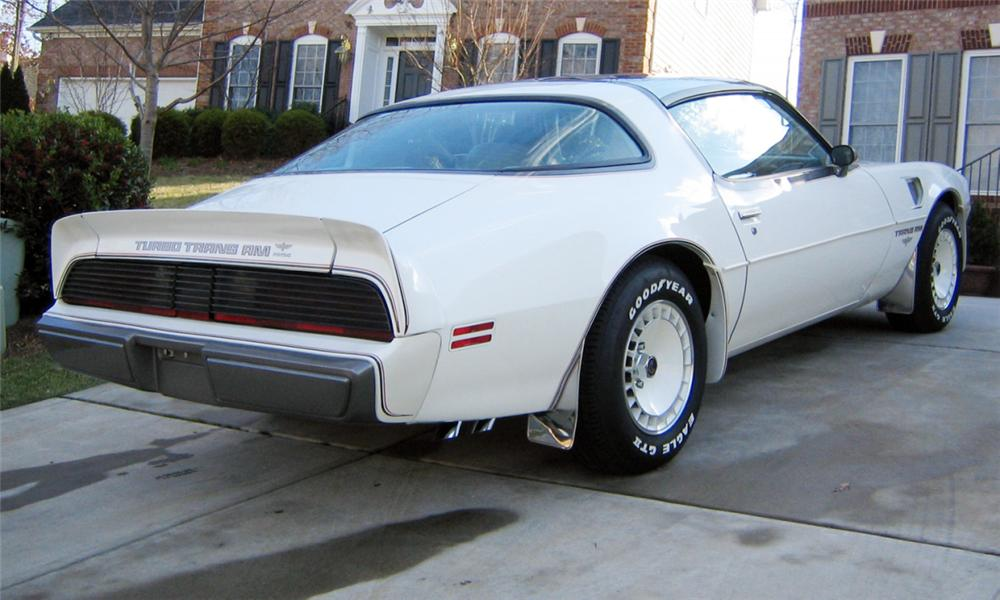 1980 PONTIAC FIREBIRD TRANS AM INDY PACE CAR - Rear 3/4 - 40113