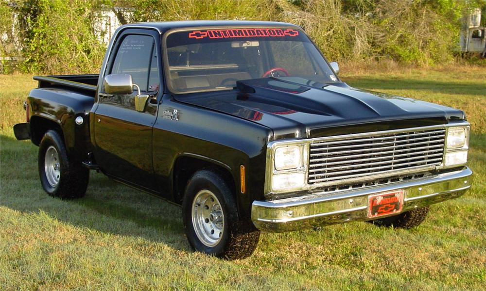 1980 CHEVROLET STEP-SIDE 1/2 TON PICKUP - Front 3/4 - 40118