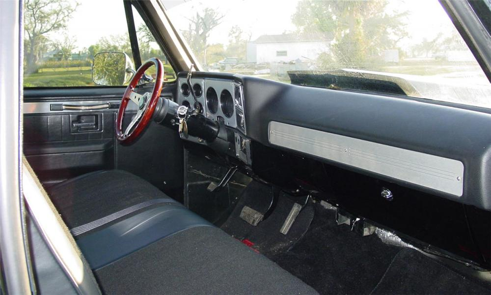 1980 CHEVROLET STEP-SIDE 1/2 TON PICKUP - Interior - 40118