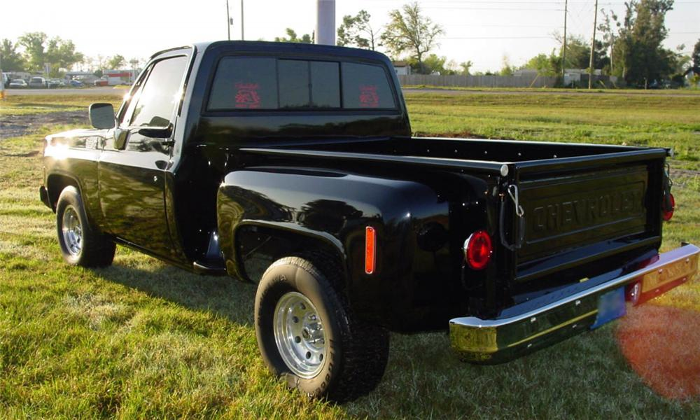 1980 CHEVROLET STEP-SIDE 1/2 TON PICKUP - Rear 3/4 - 40118
