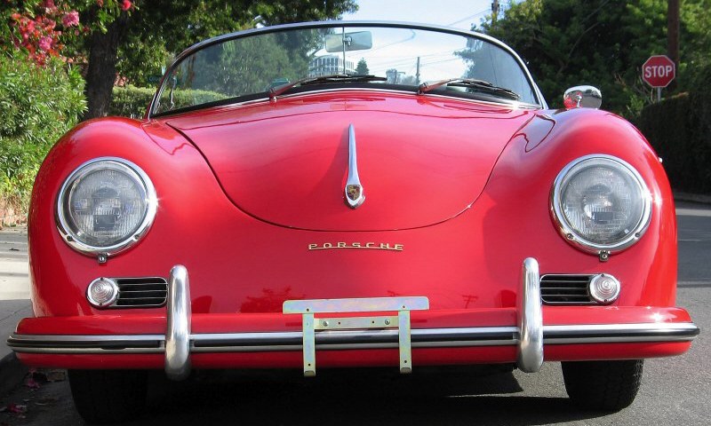 1955 PORSCHE 356 SPEEDSTER - Side Profile - 40138