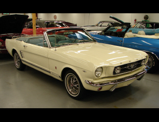 1966 FORD MUSTANG CONVERTIBLE -  - 40139