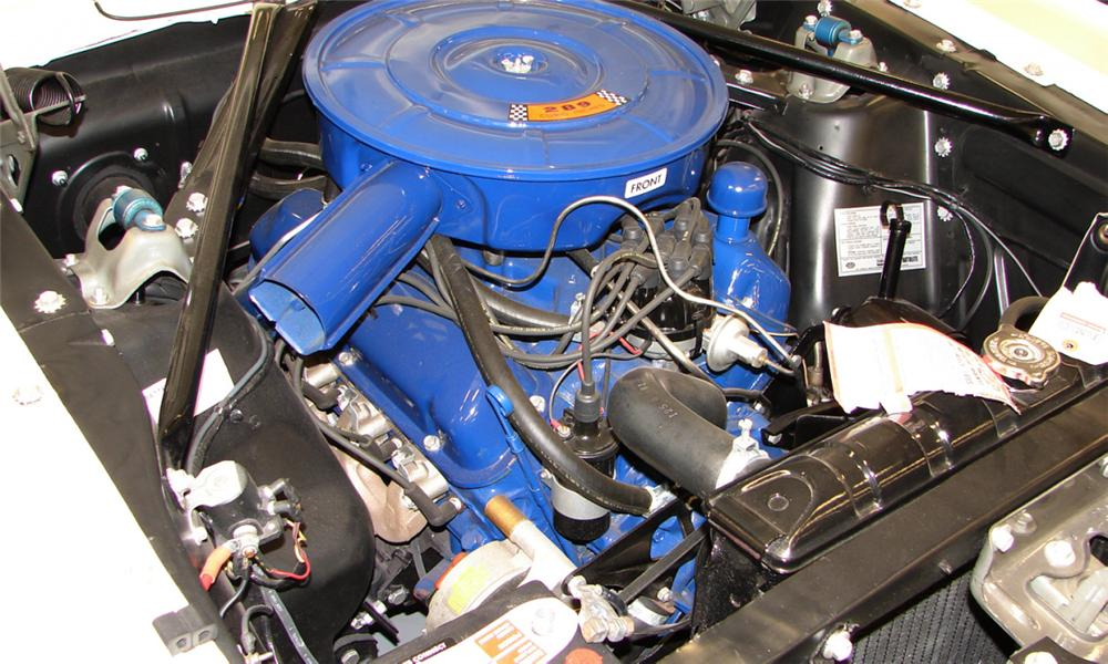 1966 FORD MUSTANG CONVERTIBLE - Engine - 40139