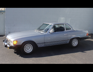 1985 MERCEDES-BENZ 380SL CONVERTIBLE -  - 40141