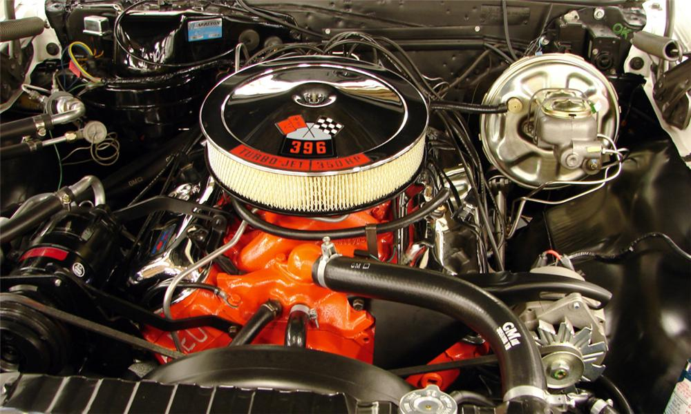 1967 CHEVROLET CHEVELLE SS 2 DOOR HARDTOP - Engine - 40146
