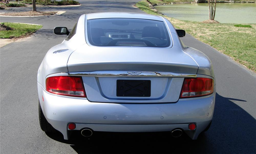 2003 ASTON MARTIN VANQUISH 2 DOOR COUPE V12 - Rear 3/4 - 40147