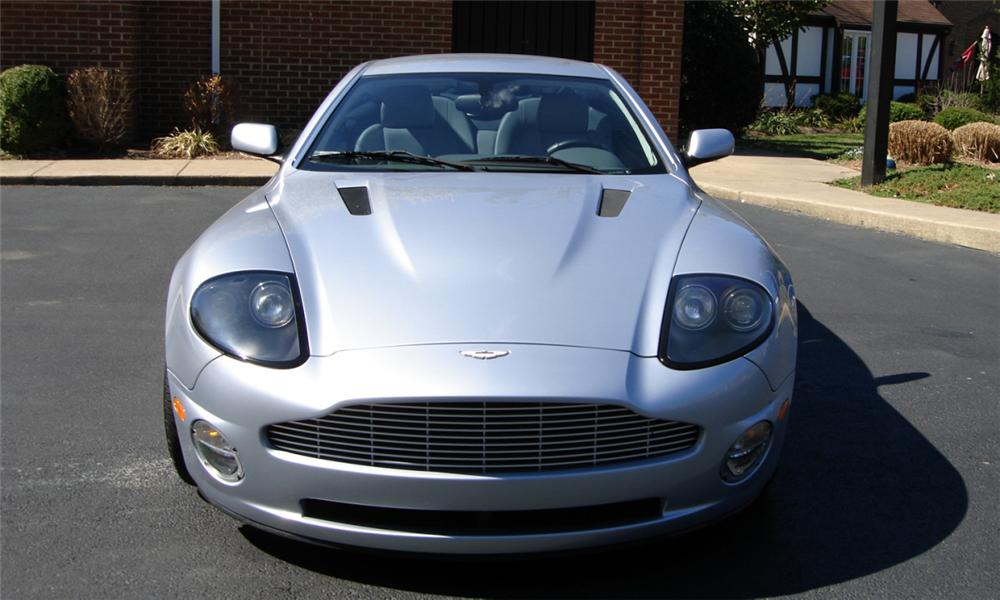2003 ASTON MARTIN VANQUISH 2 DOOR COUPE V12 - Side Profile - 40147