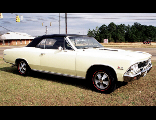 1966 CHEVROLET CHEVELLE SS 396 325HP 4-SPEED -  - 40150
