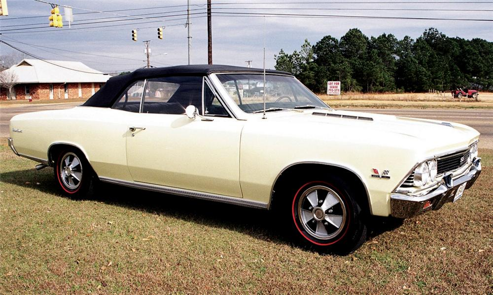 1966 CHEVROLET CHEVELLE SS 396 325HP 4-SPEED - Front 3/4 - 40150