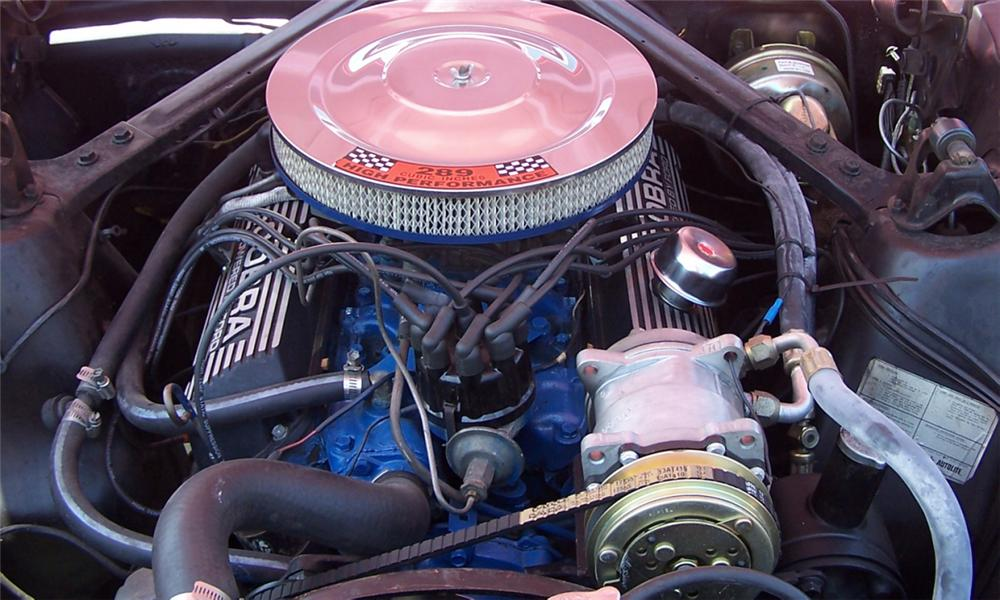 1966 FORD MUSTANG COUPE - Engine - 40155
