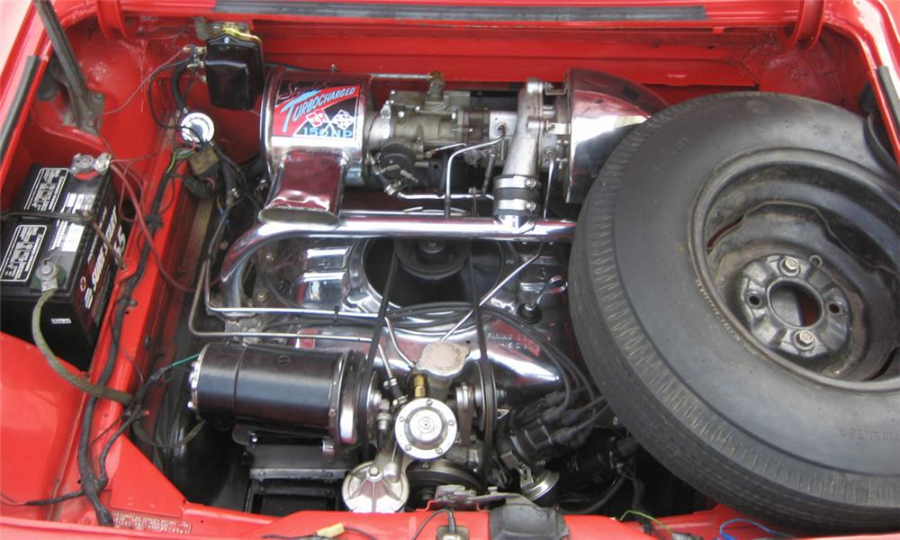 1962 CHEVROLET CORVAIR CONVERTIBLE - Engine - 40222